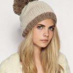 Вязаные женские шапки зимние