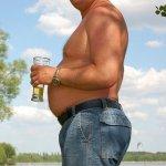 Как убрать пивной живот мужчине